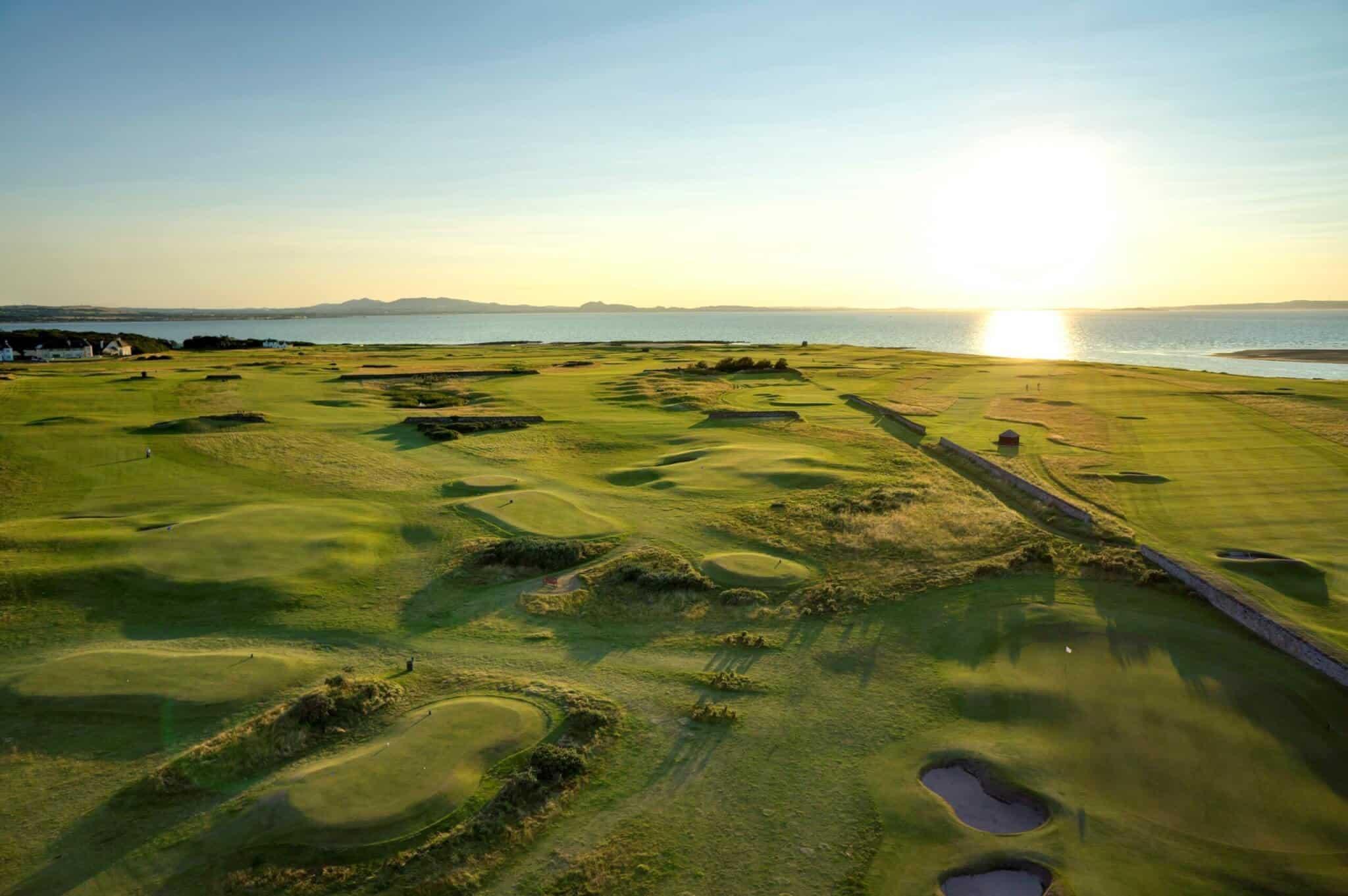 East Lothian golf courses